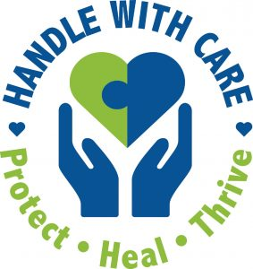 handle with care logo